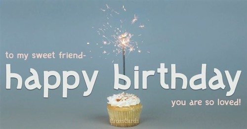Have a Sweet Birthday ecard, online card