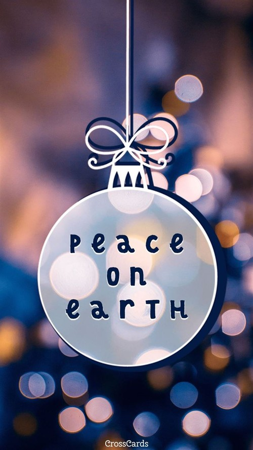 Peace on Earth ecard, online card