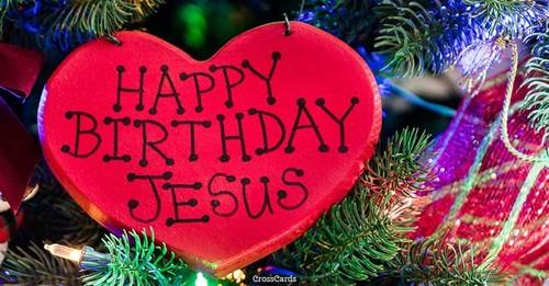 Happy Birthday, Jesus ecard, online card