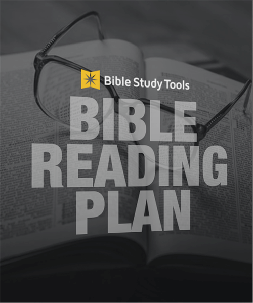 A One-Year Bible Reading Plan