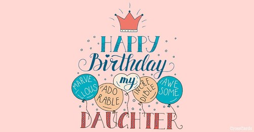 Happy Birthday, Daughter