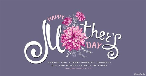 Happy Mother's Day - Ephesians 4:2 ecard, online card