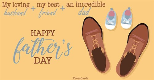 Happy Father's Day Husband ecard, online card