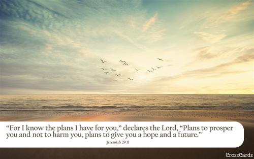 Jeremiah 29:11 A Hope and a Future
