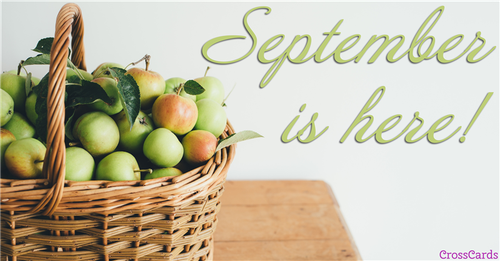 Hello September! ecard, online card