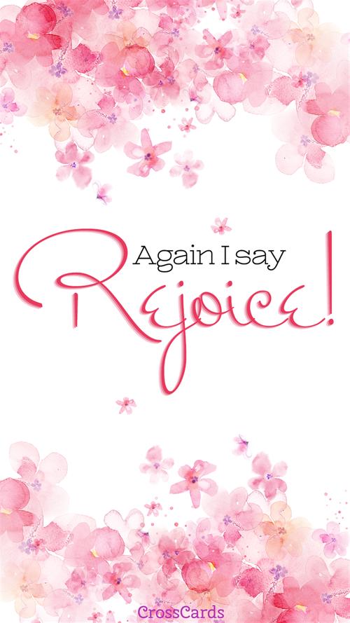 Rejoice! Wallpaper