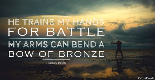 2 Samuel 22:35