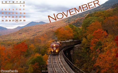 November 2019 - Train
