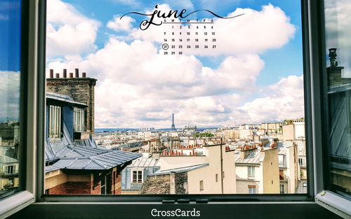 June 2020 - Open Window ecard, online card