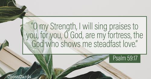 Psalm 59:17