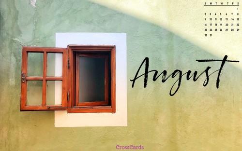 August 2020 - Open Window ecard, online card