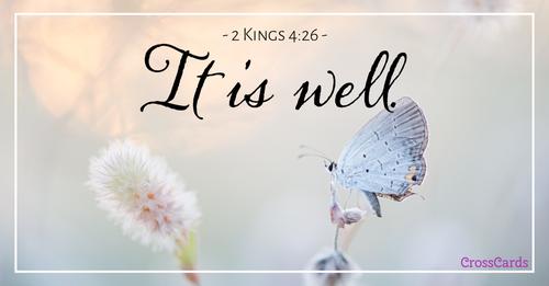 2 Kings 4:26 ecard, online card