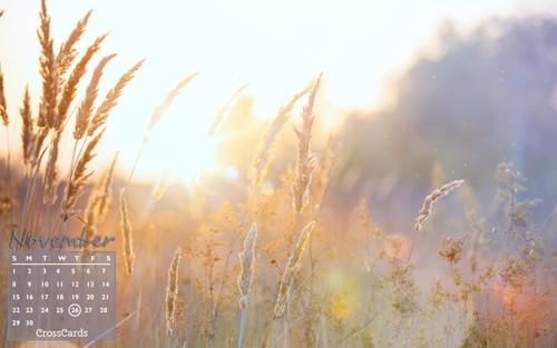 November 2020 - Autumn Sunshine ecard, online card
