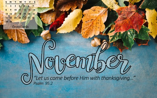 November 2020 - Thanksgiving ecard, online card
