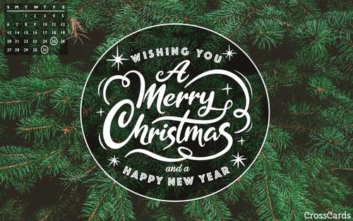 December 2020 - Merry Christmas! ecard, online card