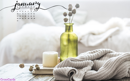 January 2021 - Stay Cozy ecard, online card