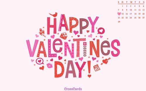 February 2021 - Valentine's Day ecard, online card