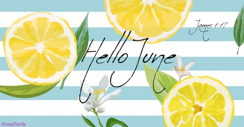 Hello June! ecard, online card