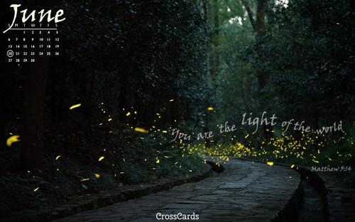 June 2021 - Light ecard, online card