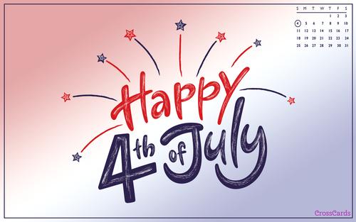 July 2021 - Happy Fourth! ecard, online card