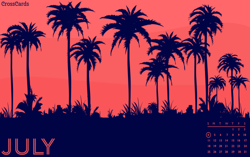July 2021 - Palm Trees