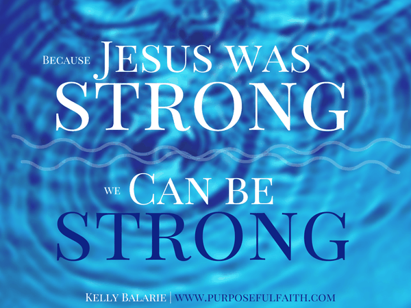 Stay strong god is with you