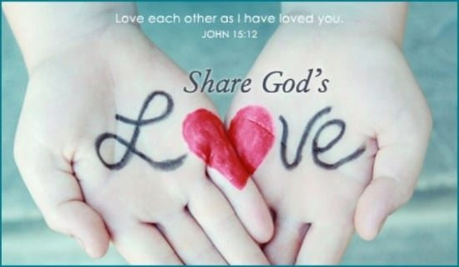 share god's love quotes