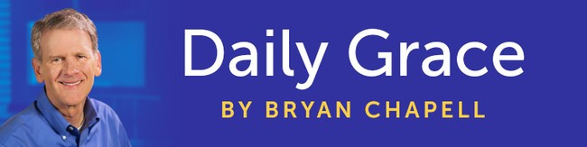 Devotional banner for Daily Grace by Bryan Chapell