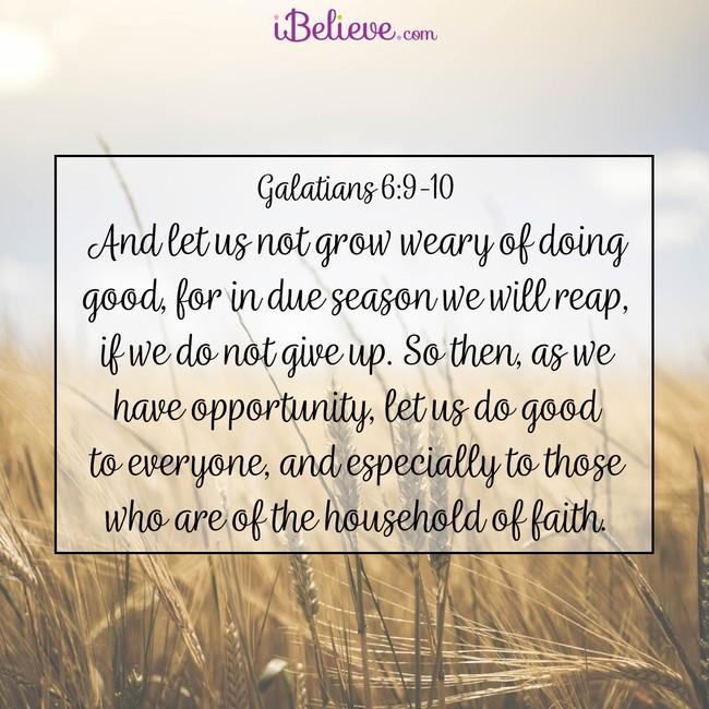 Galatians 6:9-10-sq