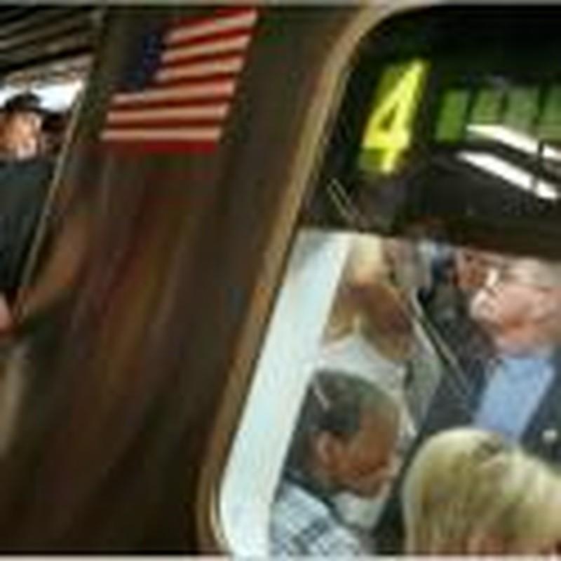 Boy-Man Meets Jimmy Carter on the No. 4 Train