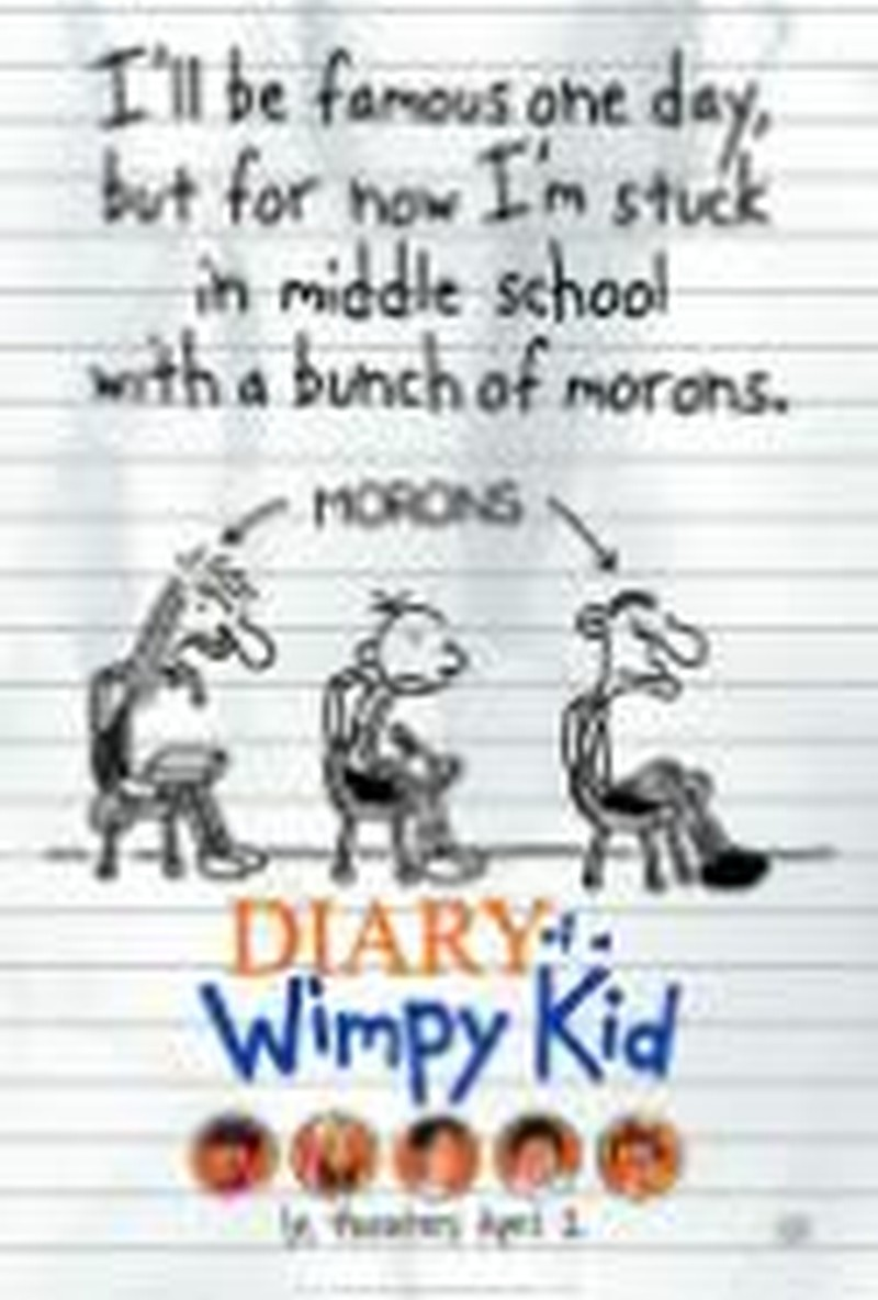 <i>Diary of a Wimpy Kid</i> Starts Strong but Weakens