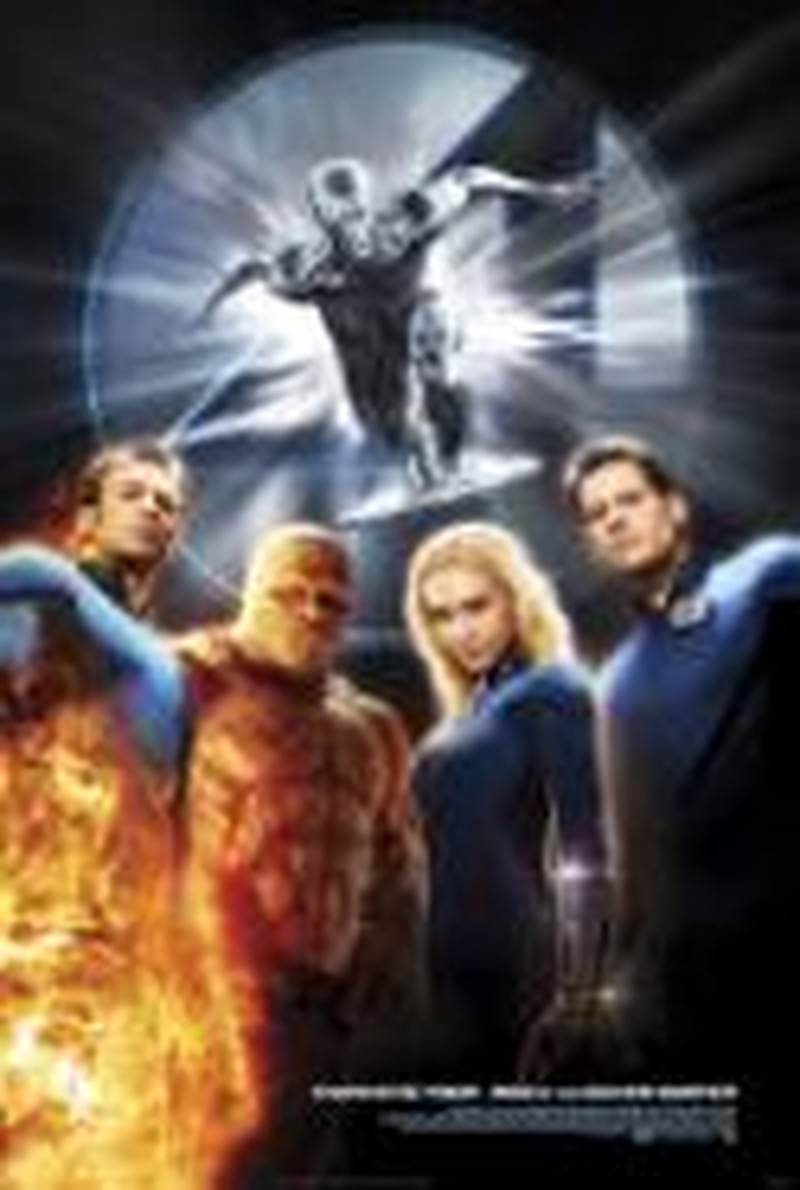 <i>Fantastic 4:  Rise of the Silver Surfer</i> Falls Flat