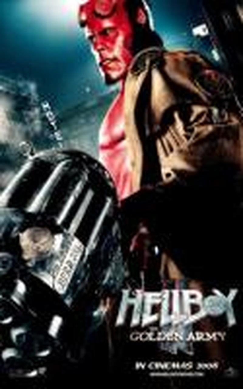 Guillermo del Toro's <i>Hellboy II</i> Not Quite Golden