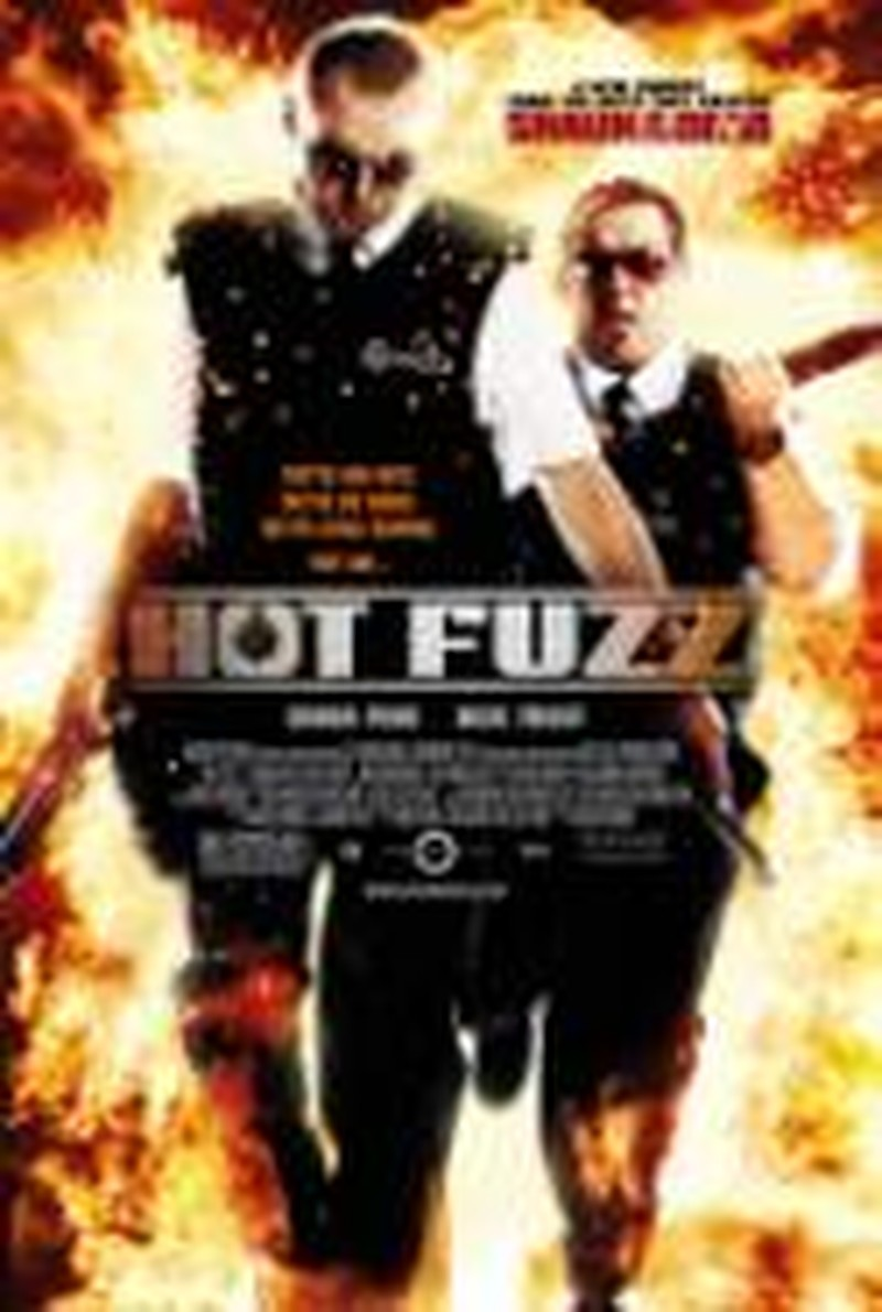 <i>Hot Fuzz</i> Sure to Please Parody, Horror and Cop Fans