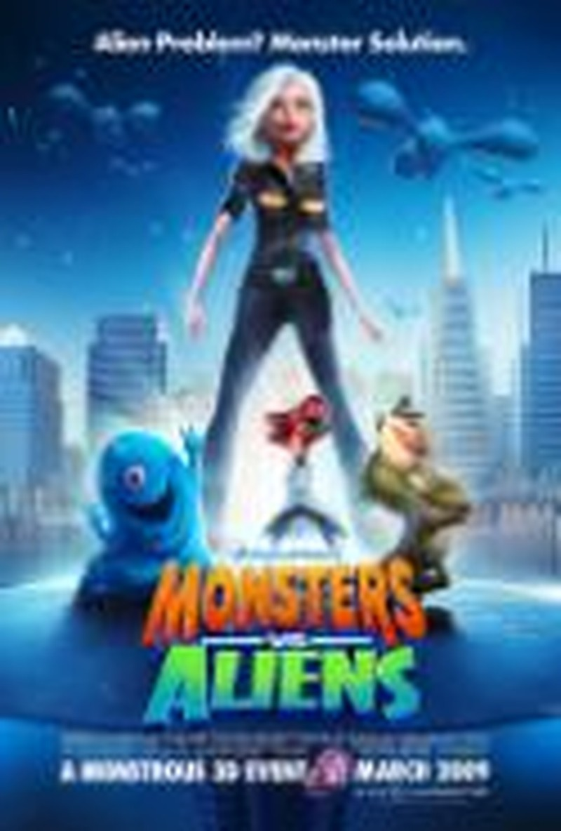"""Action-Packed """"Monsters Vs. Aliens"""" Offers Plenty of Laughs"""