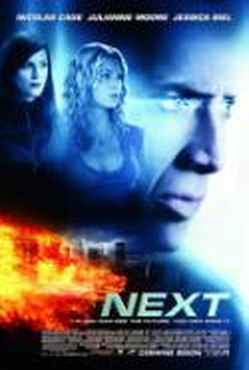 Suspension of Disbelief Needed for <i>Next</i>