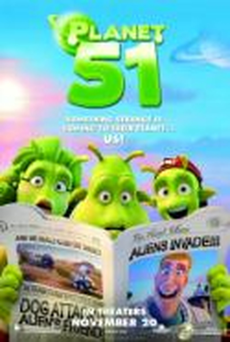 So-So <i>Planet 51</i> Gets a Boost from Much Better Movies