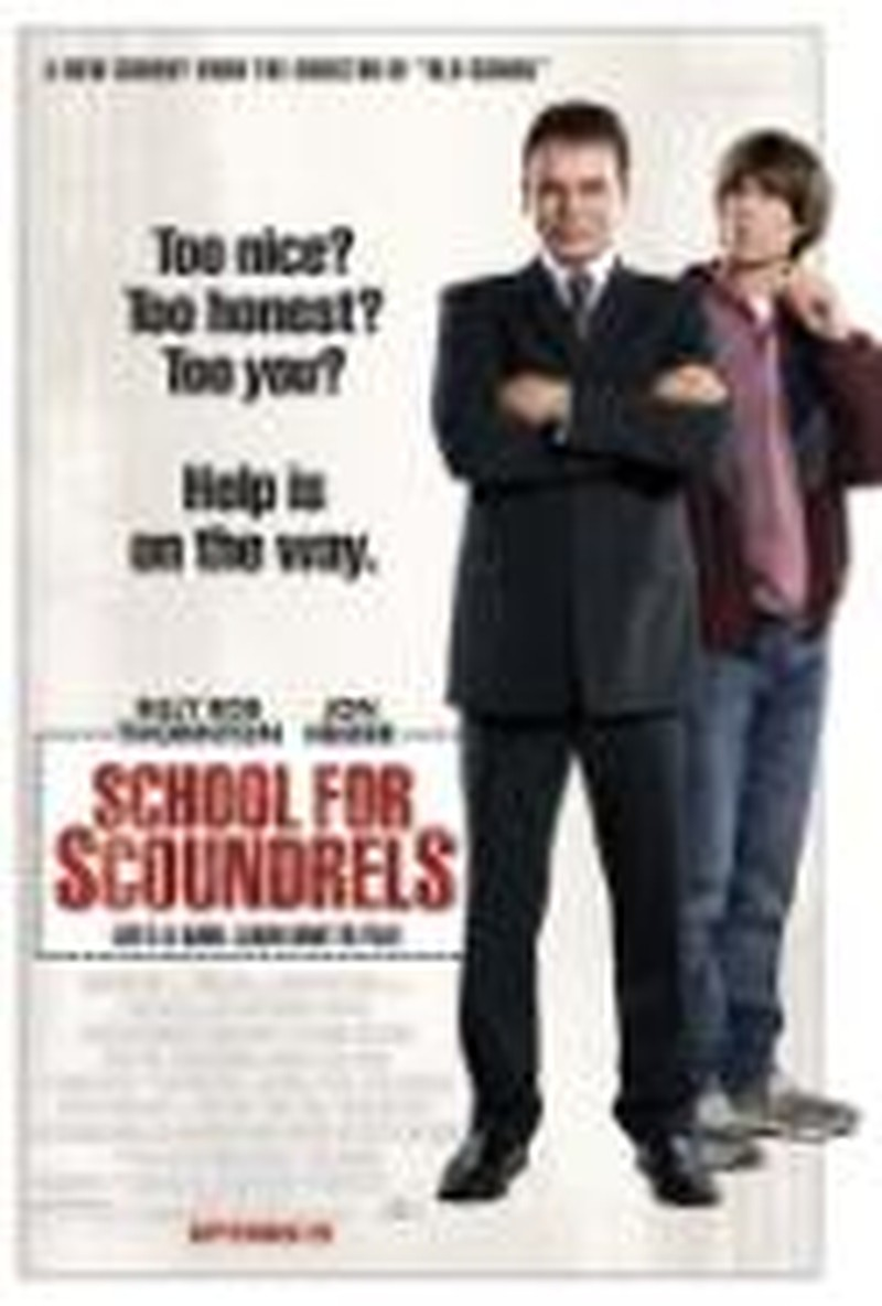 "Nothing Worth Learning in ""School for Scoundrels"""
