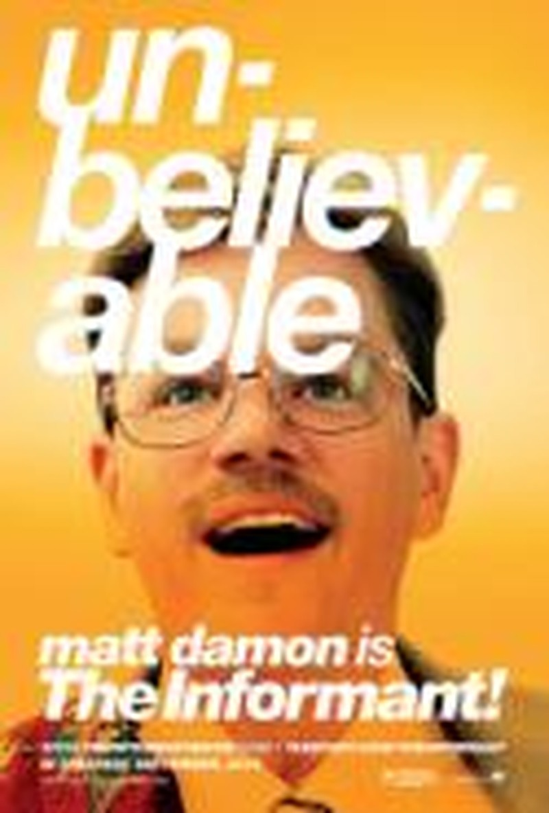 Damon Weighs in with Great Performance in <i>The Informant!</i>