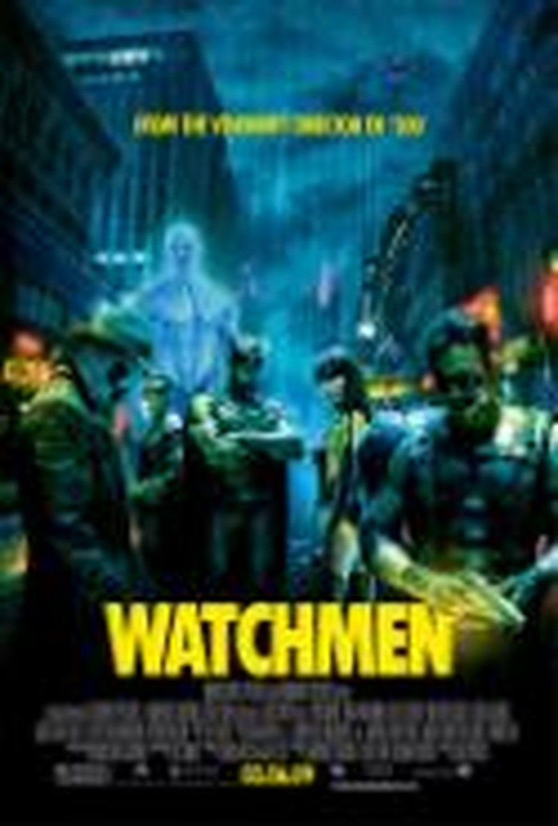 "<i>Watchmen</i> Puts the ""Graphic"" in Graphic-Novel Adaptation"