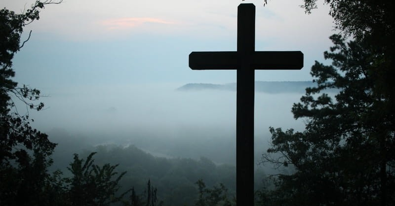 truth of the cross - cross on mountian