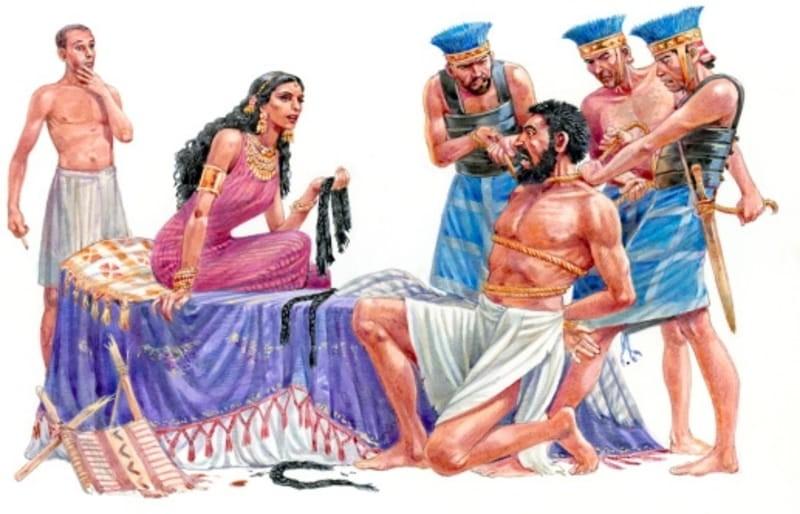 Samson and Delilah - Bible Story