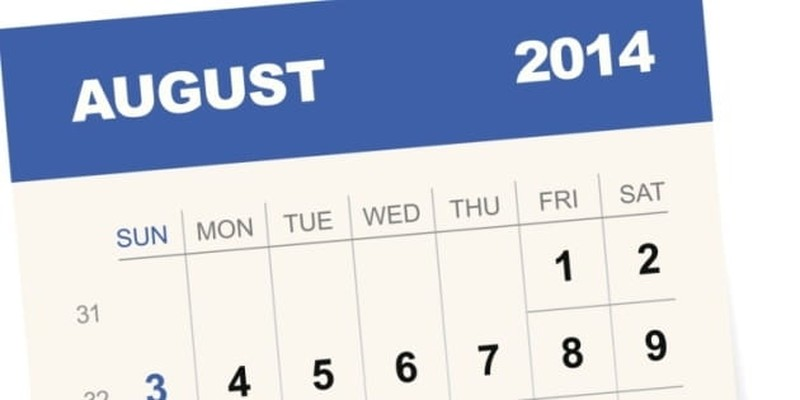 Goodbye August, Worst Month Ever?