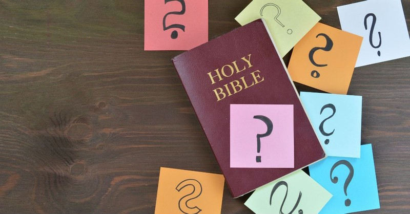 Is Questioning the Bible Wrong?