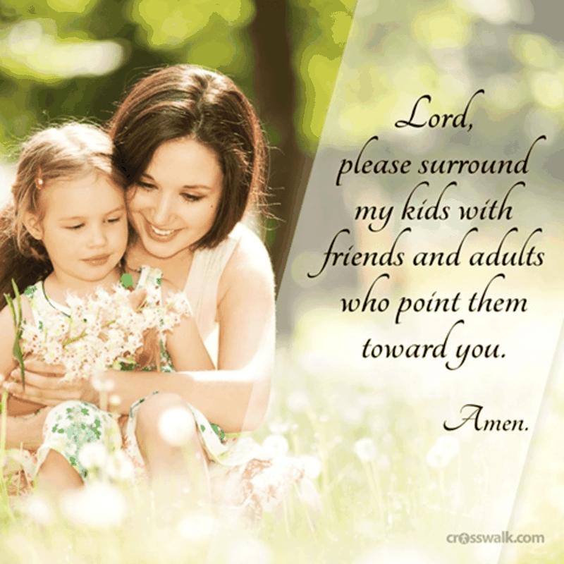 A Parent's Prayer