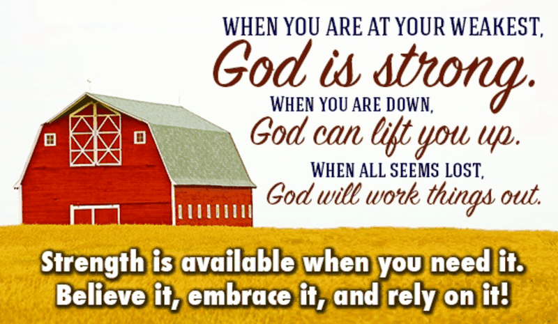 God is Strong