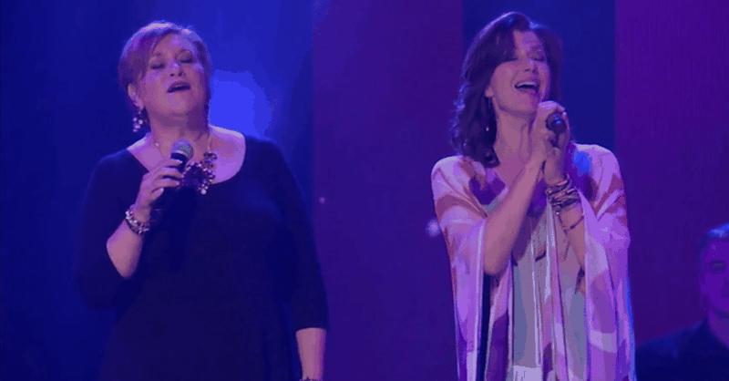 Amy Grant and Sandi Patty - El Shaddai (Live)