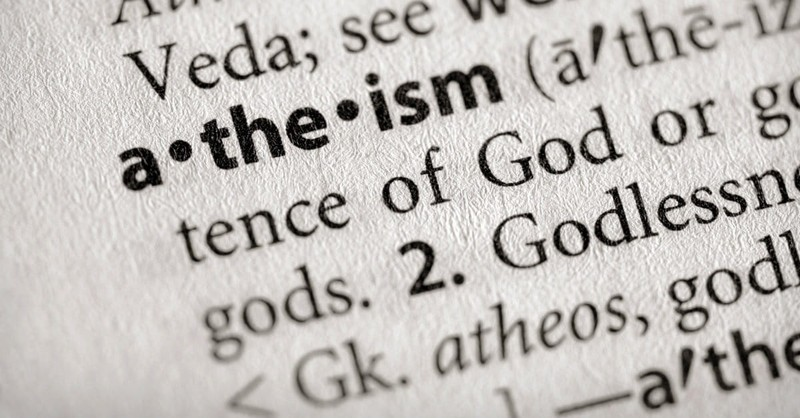 Don't Believe Anyone Who Calls Himself an Atheist