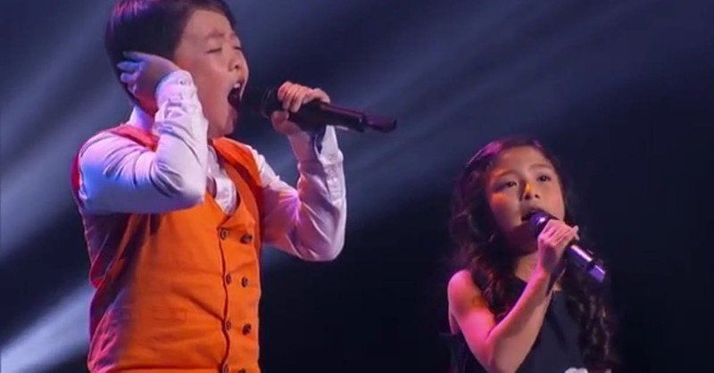 2 Talented Kids Sing Jaw-Dropping Rendition Of 'You Raise Me Up'