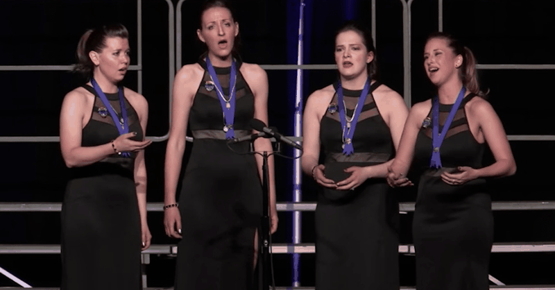 Women's Vocal Quartet Version Of 'How Great Thou Art' Is Beyond Beautiful!
